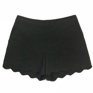 June & Hudson Shorts Black Medium